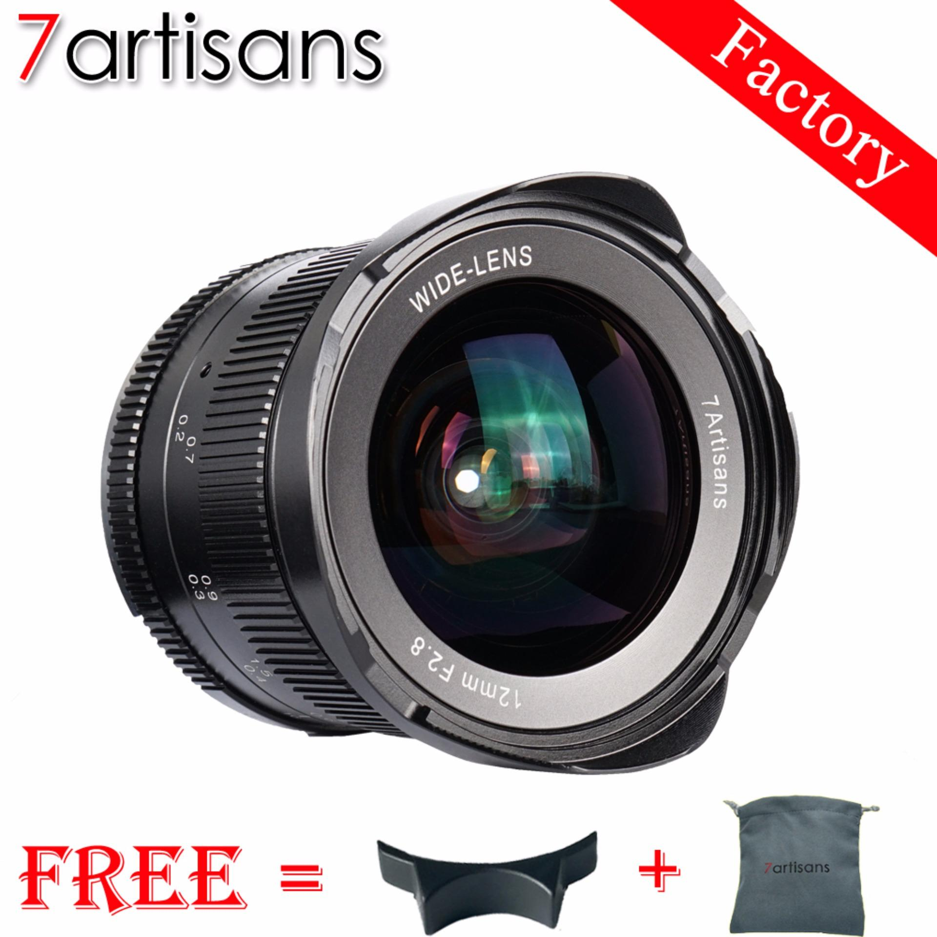 7artisans 12mm F2.8 Ultra Wide Angle Lens for Canon EOS-M Mount Mirrorless
