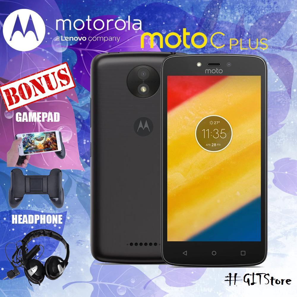 Motorola Moto C Plus XT1721 2/16GB Black Free 2 Item