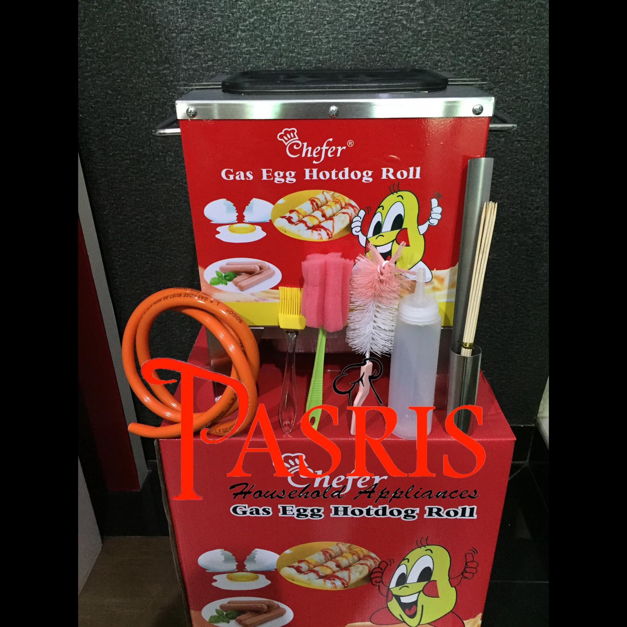 Buy Sell Cheapest Sostel Best Quality Product Deals Indonesian Store Alat Sosis Telur 4 Lubang Mesin Lobang Egg Roll 6 Gas Chefer
