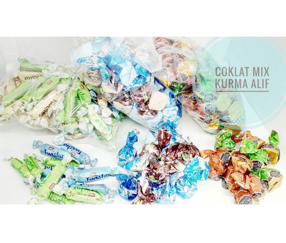 Coklat Arab Mix 500 Gr Oleh Oleh Haji Murah
