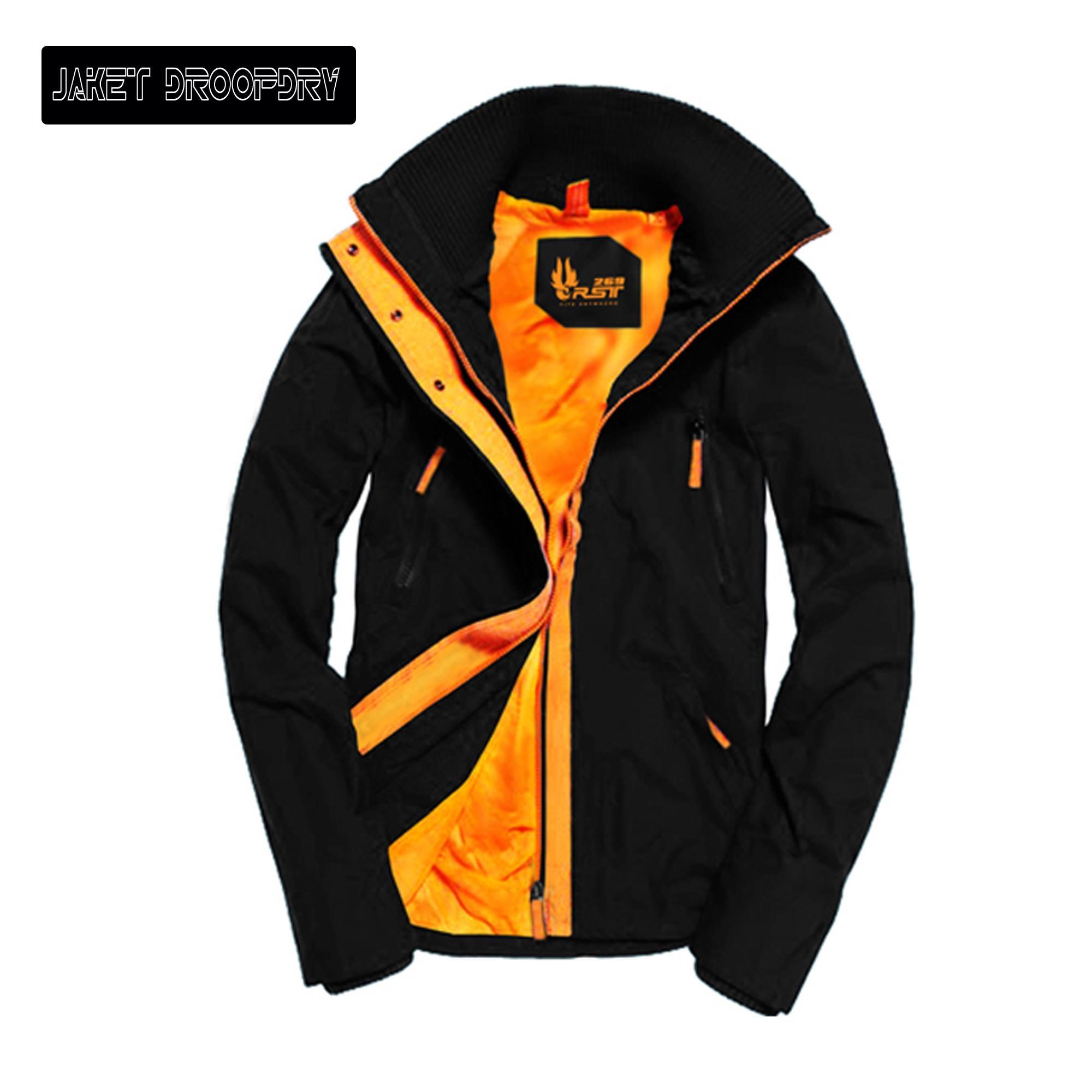 Jual Jaket Parka Pria Terbaru Parasut Nike Hijau Tosca Droopdry Bahan Mayer Waterproof Brand Distro Fashion Keren Tesedia 2 Warna