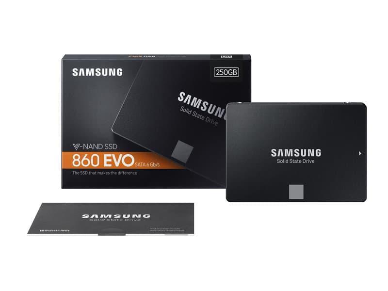 SSD SAMSUNG 860 EVO - SSD SATA III 250GB