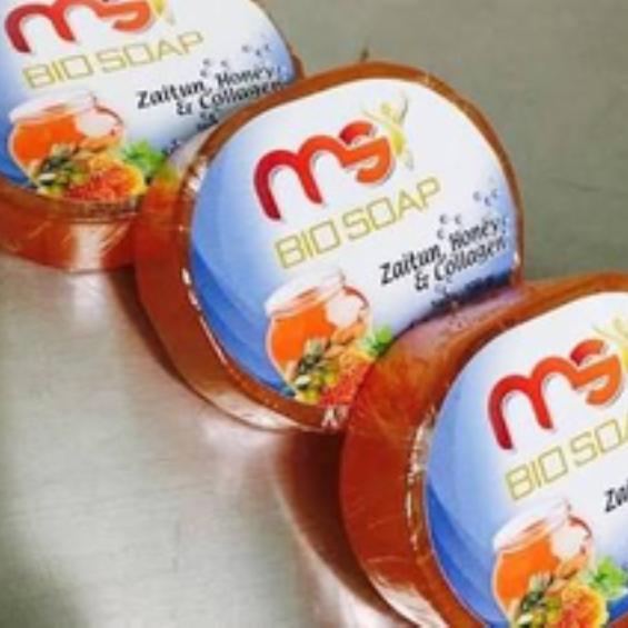 Biosoap Bio Soap MSI - Sabun Wajah Zaitun Honey Collagen - Sabun Madu
