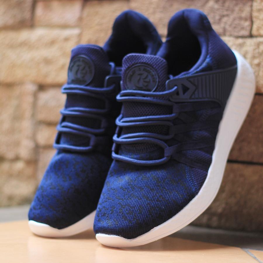 Sepatu Sport Sneakers Phoenix Leon Navy