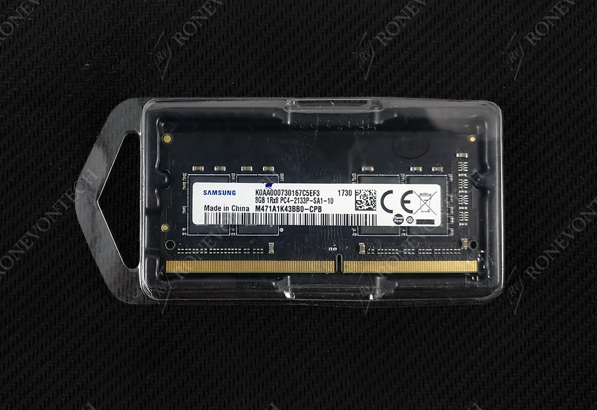 RAM Samsung 8GB DDR4 2133 (PC4-17000) SO-DIMM Laptop Memory
