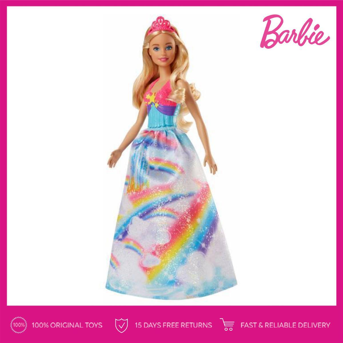 Barbie Dreamtopia Princess Doll (Pink Crown) a33964a421