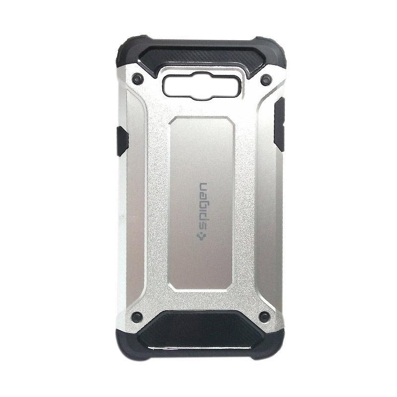 OS Spigen Iron Man Case Oppo F9 - Silver