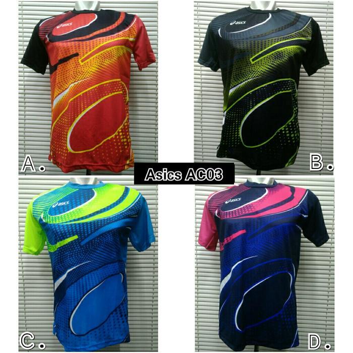 ORIGINAL!!! Baju Kaos Voli / Volley Asics AC03 - topTmz