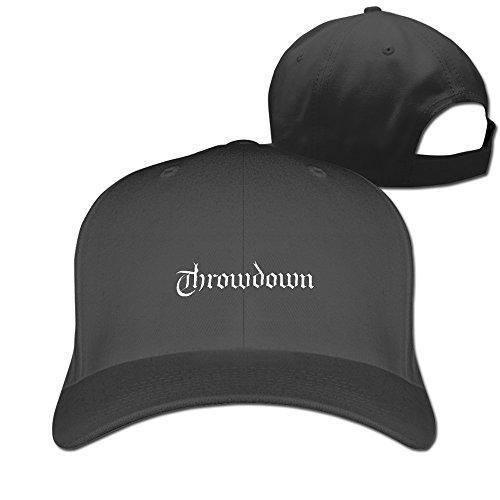 Custom Throwdown Logo Deathless Venom & Tears Cotton Hat For Men