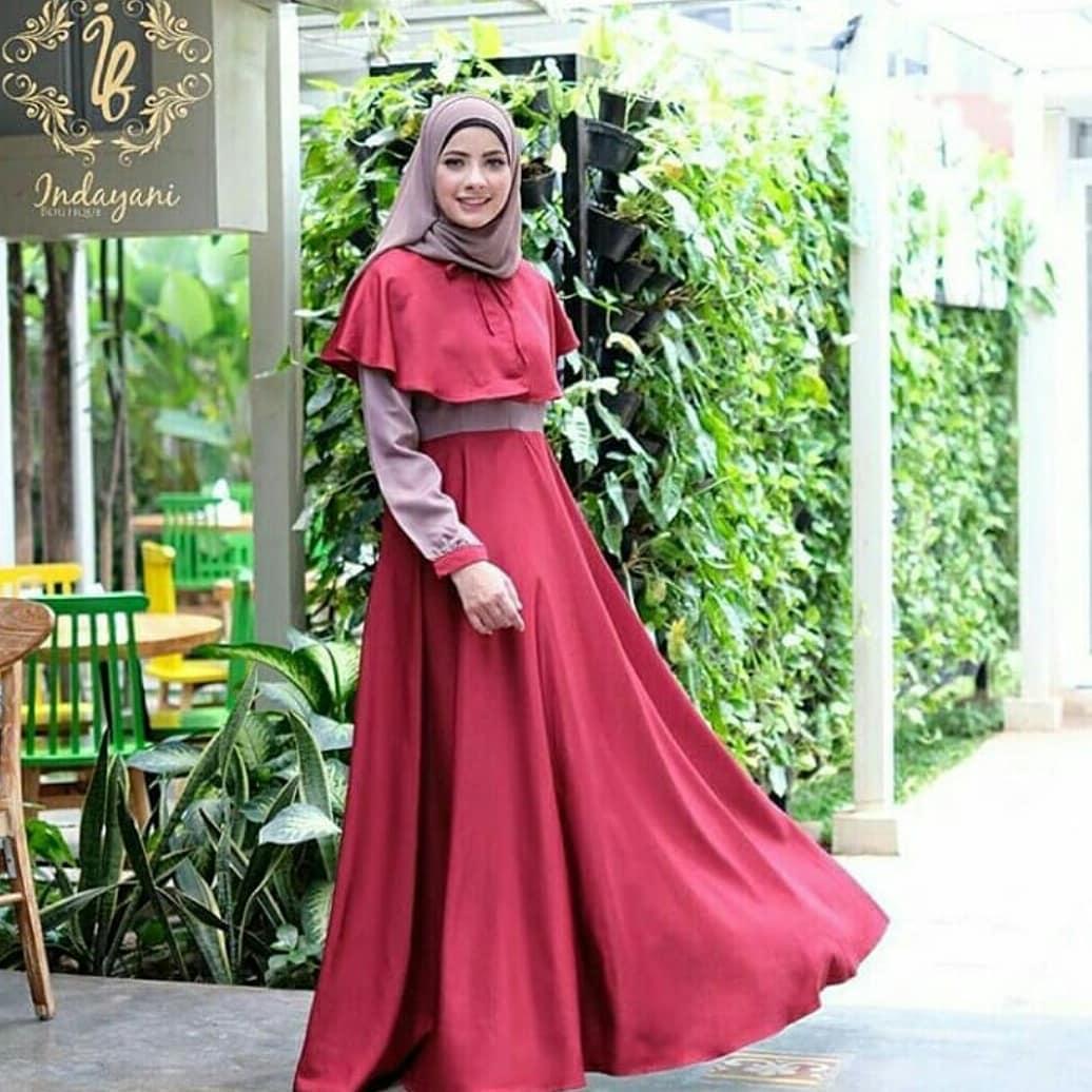 Baju Muslim Gamis Dewi Dress Ballotely