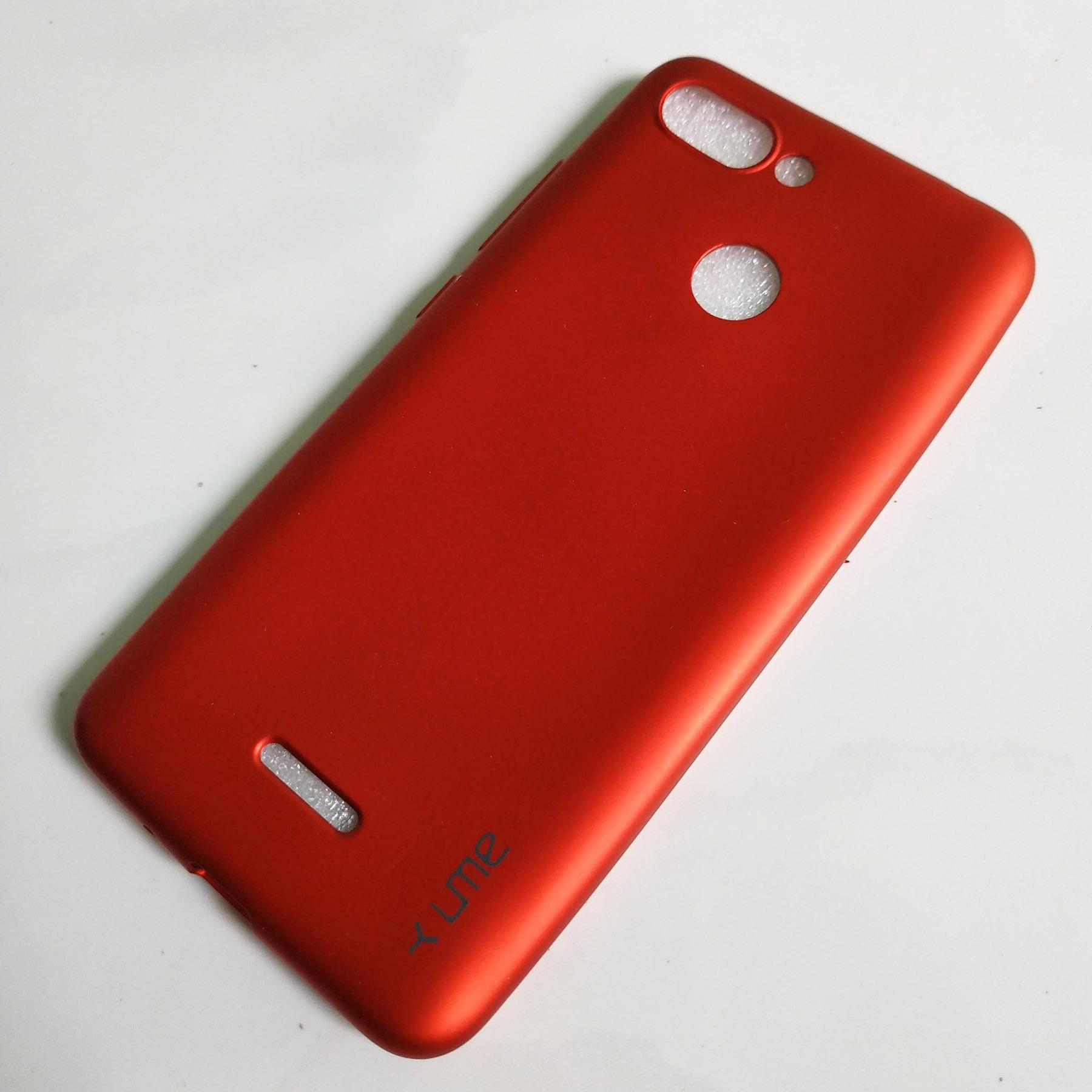 Jelly Case Ume Emerald Softcase untuk Xiaomi Redmi 6 Casing Ultra thin Soft case TPU Doff