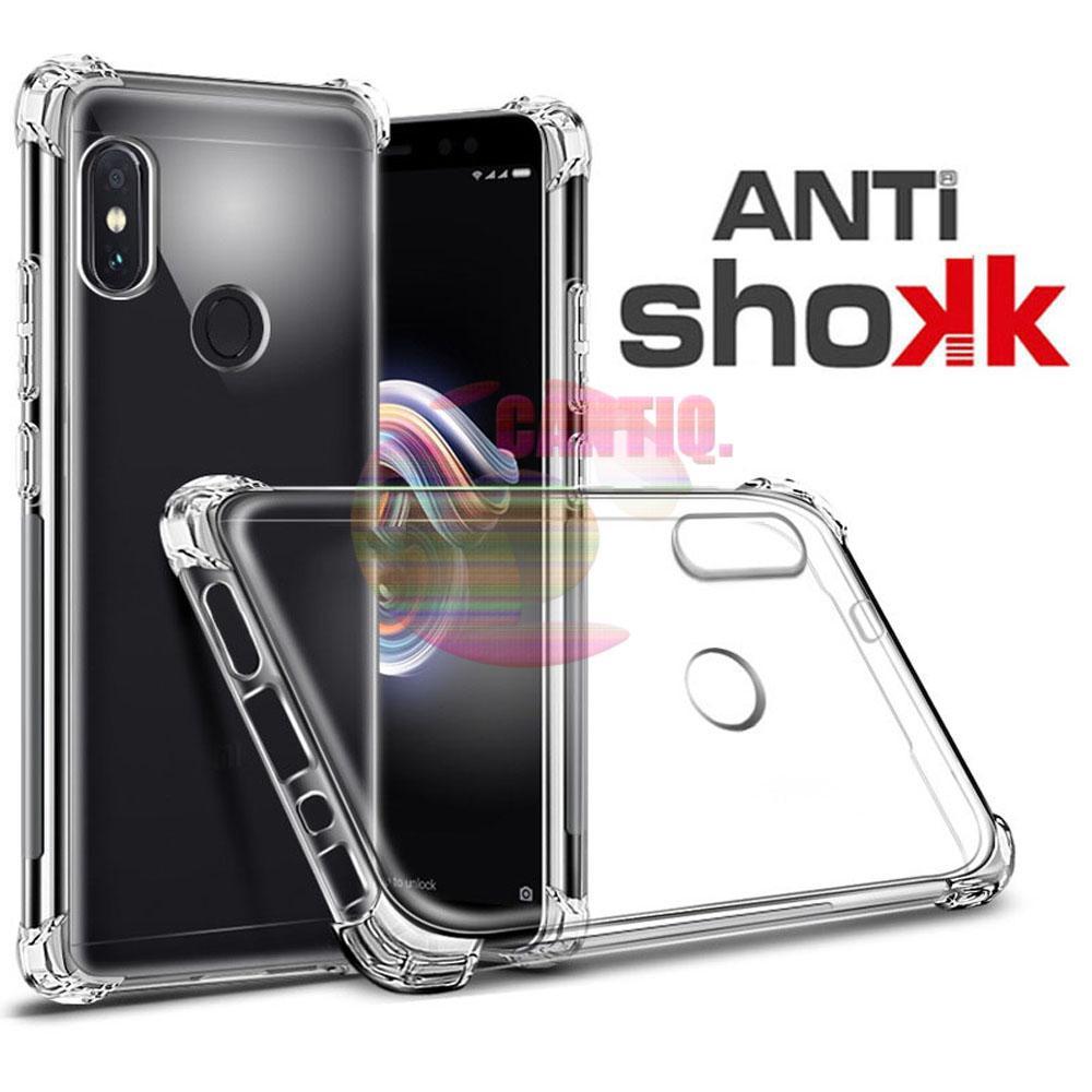 Case Anti Shock Xiaomi Redmi Note 5 Ultrathin Anti Crack Elegant Softcase Anti Jamur Air Case 0.3mm / Silicone Xiaomi Redmi Note 5 / Soft Case / Silikon Anti Crack / Case Hp / Case Xiaomi Redmi Note 5 / Pelindung Hp - Putih Transparant