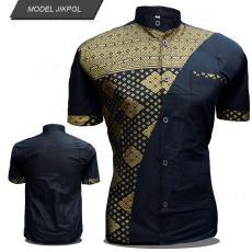 Kemeja Batik Wajik Warna Emas /Model Baju Batik Terbaru / Baju Batik Modern / Batik