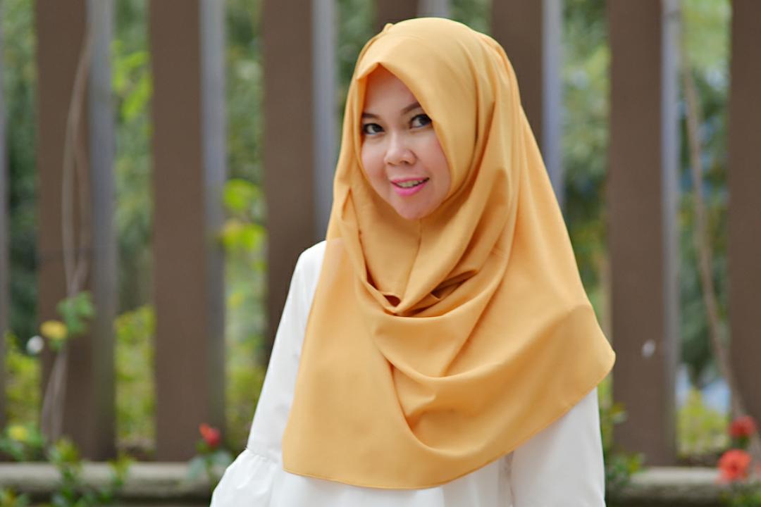 Pashmina Instan KANAYA - MUSTARD hijab instan / pashmina / segi 4 instan / jilbab praktis / kerudung termurah / hijab terbaru
