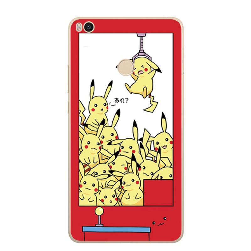 Max2 Selubung Ponsel Selubung Note2/5 Splus Xiaomi Silikon Lunak Catok Mesin Boneka