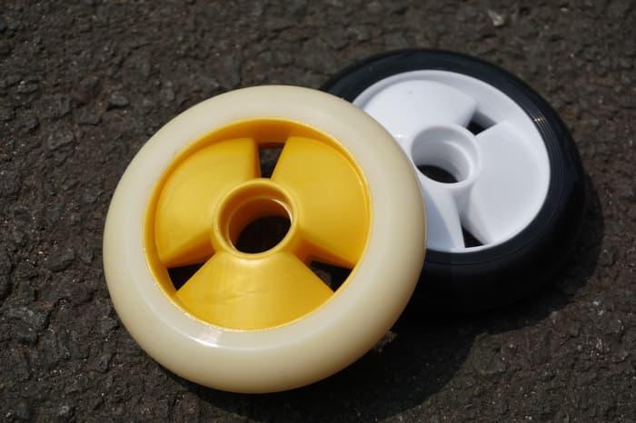 Harga Spesial!! Wheels Inline Skate Atau Sepatu Roda 100 Mm Weiqiu - ready stock