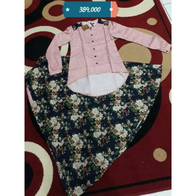 Abaya/Setelan Dannis Ds192 (Setelan/Abaya Size 0)