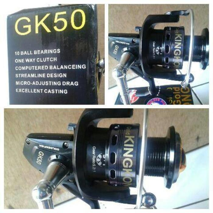 Reel GoldenFish Kingkong (GK50) 10 Bearings