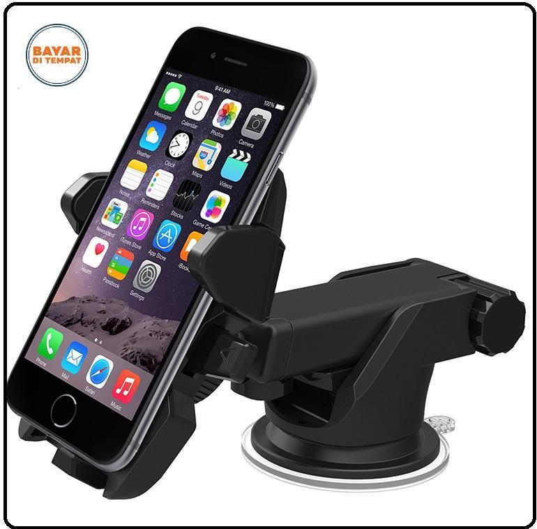 Car Holder Smartphone Long Neck - Black