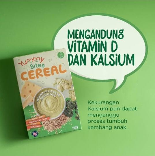 Arsyad Babyshop - Yummy Bites Cereal Multigrain Cauliflower - Makanan Bubur Bayi By Arsyad Babyshop.