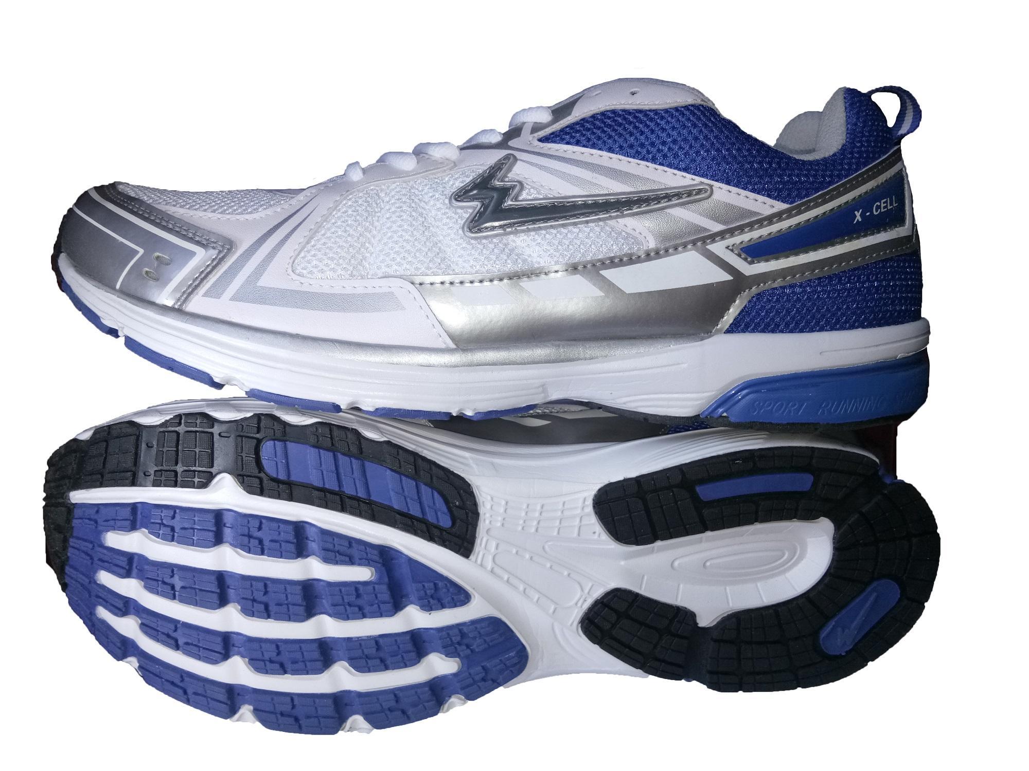 Sepatu Eagle Xcell Silver Blue - Sepatu Sport Pria - Sepatu Lari - Sepatu  Pria - 4c30bcb343