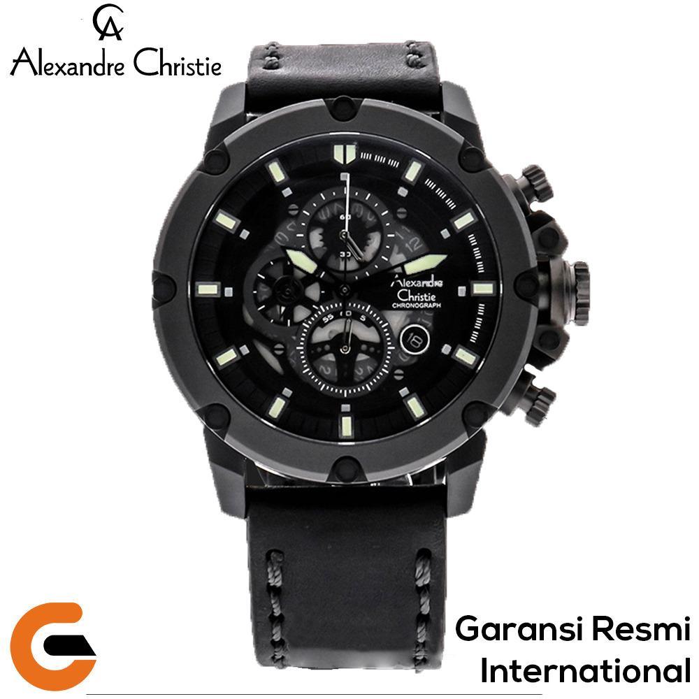 Jam Tangan Alexandre Christie Lazada 8408 Couple Silver Putih
