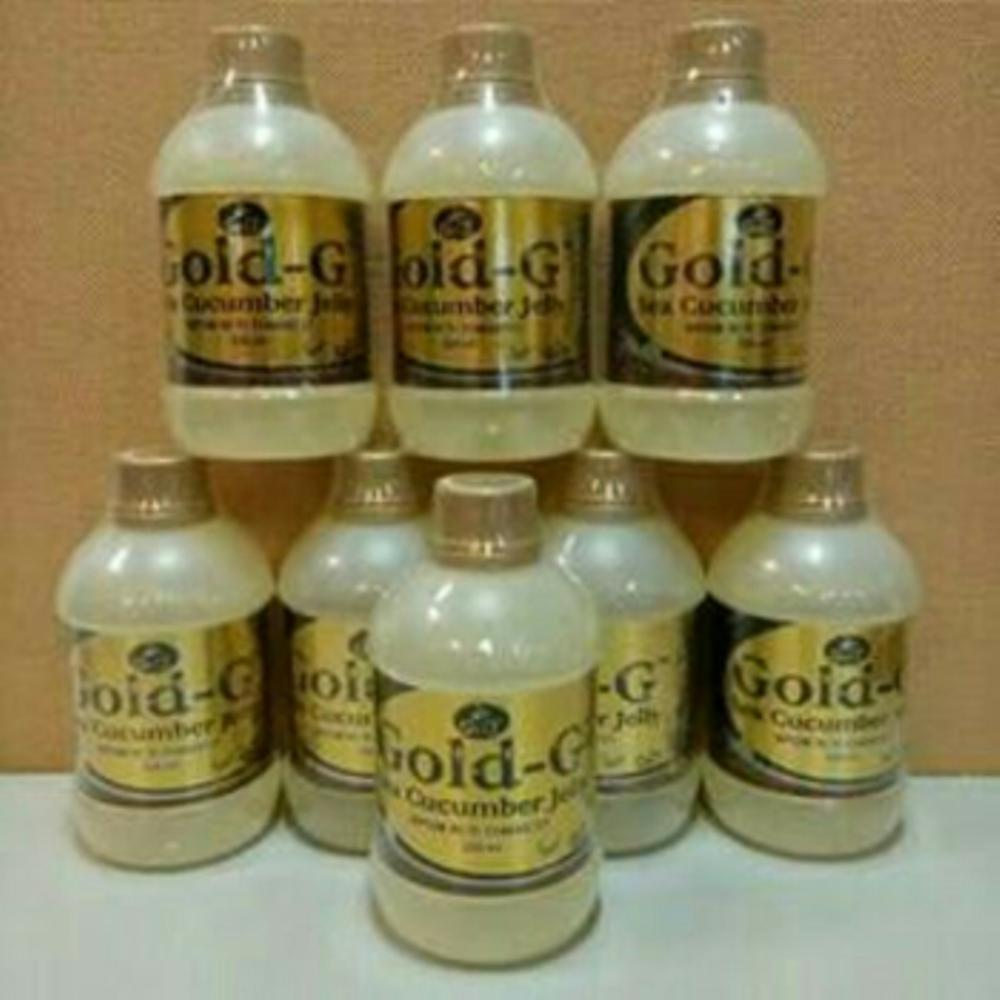 Jelly Gamat GOLD G 320ML..100% original di lapak Medika Herbal pie18