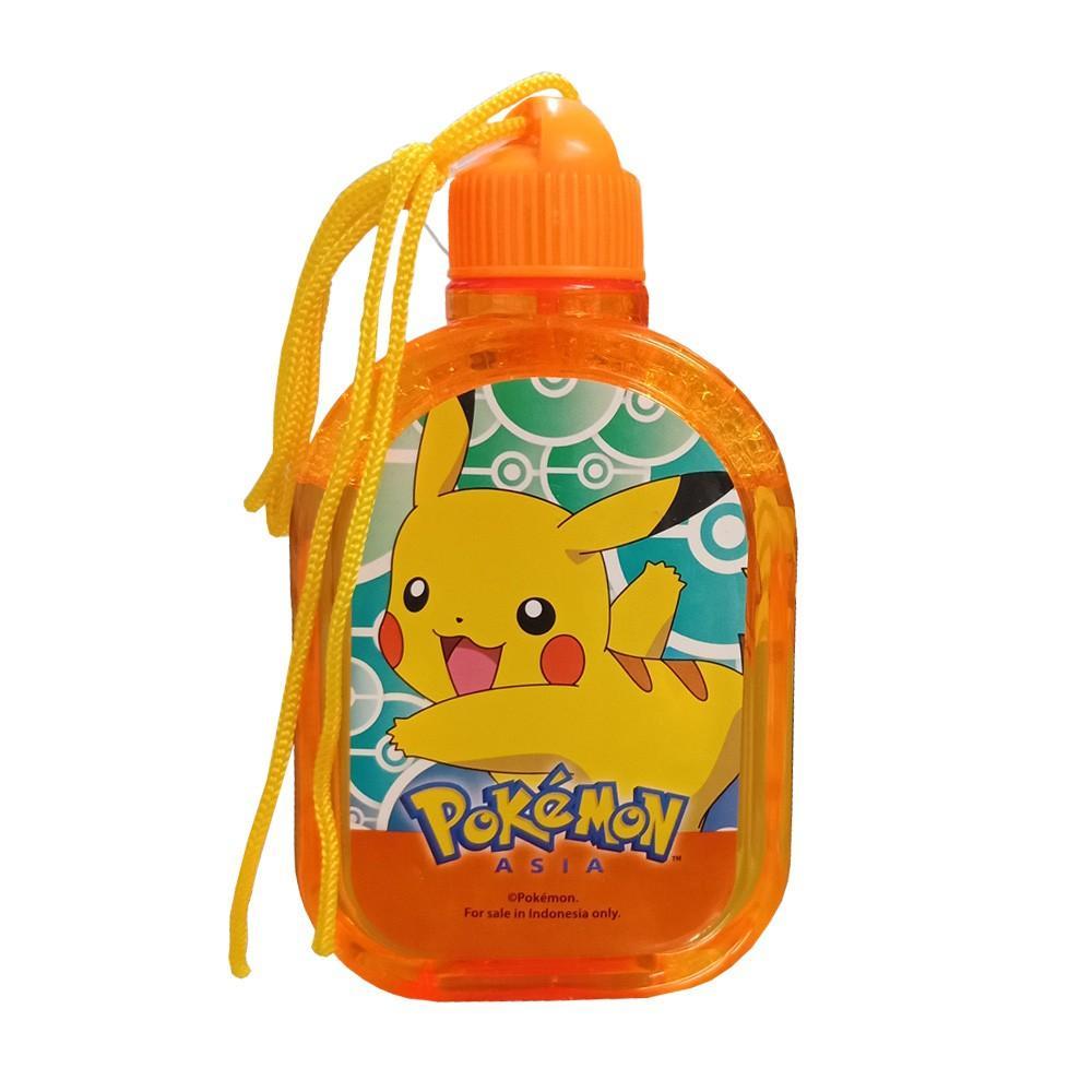 Toy Addict Bubble Liquid Bottle Pokemon Pikachu Character 12 cm .