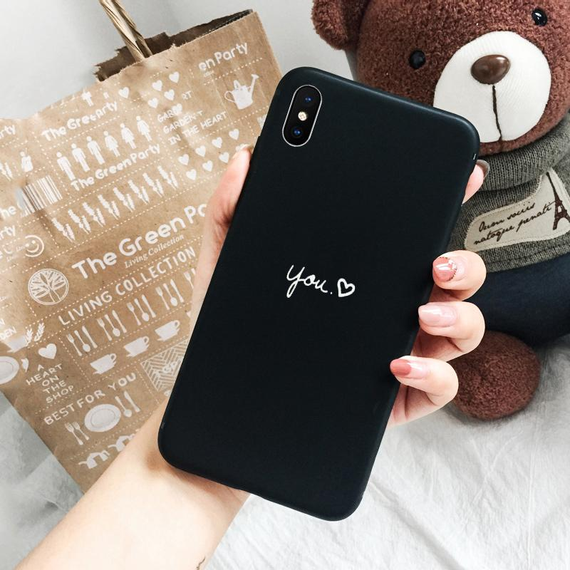 Apple ID iphone x Casing HP Bungkus Penuh anti jatuh Ukiran 3 dimensi Silikon lunak kepribadian pasang Pria dan wanita pasangan Chumei Kartun x