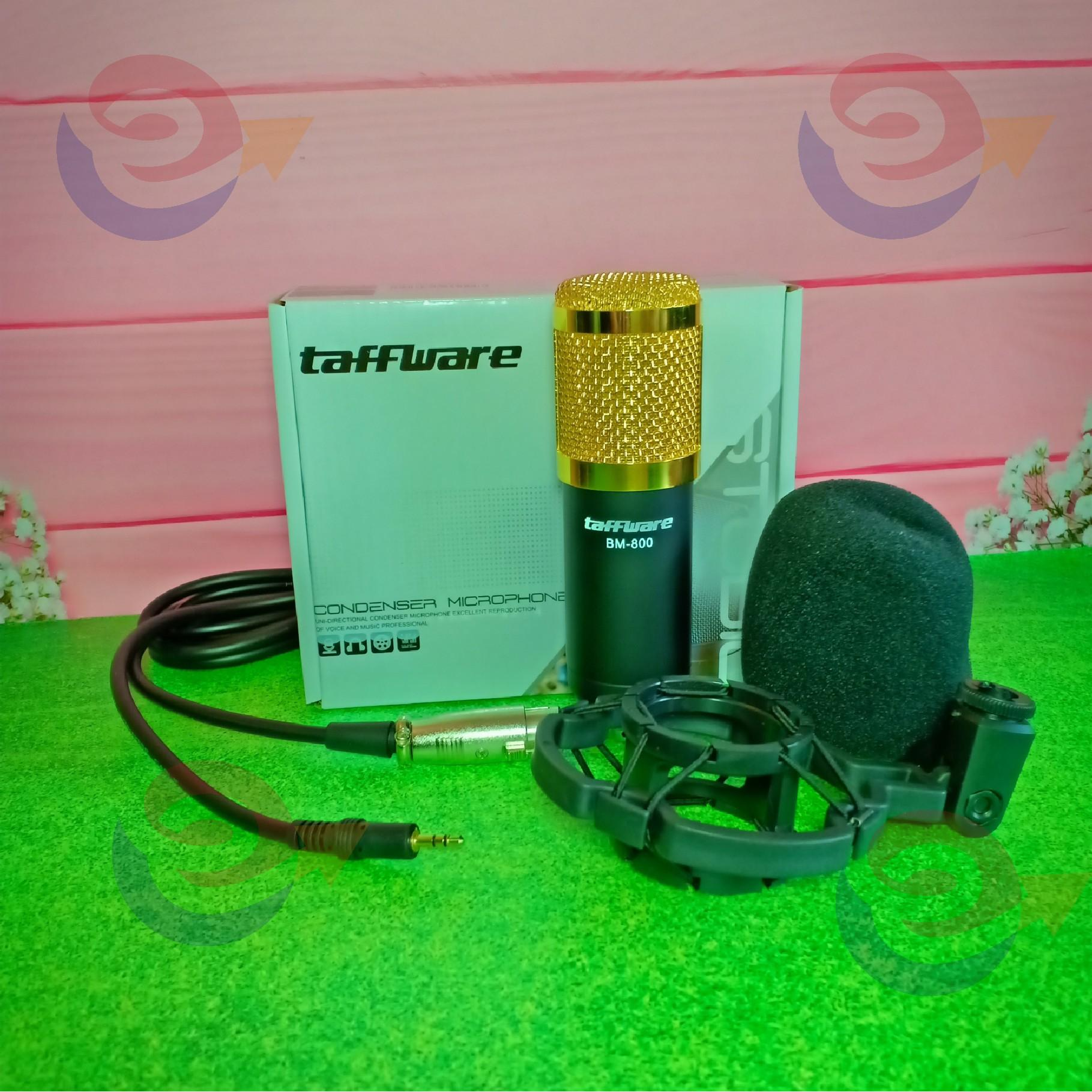 BM800 Condenser Microphone Sound Recording With Mic Shock Mount3.5Mm Audio Cable Foam Cap For Pc Laptop Radio Broadcasting Studio voice-Over Sound Recording