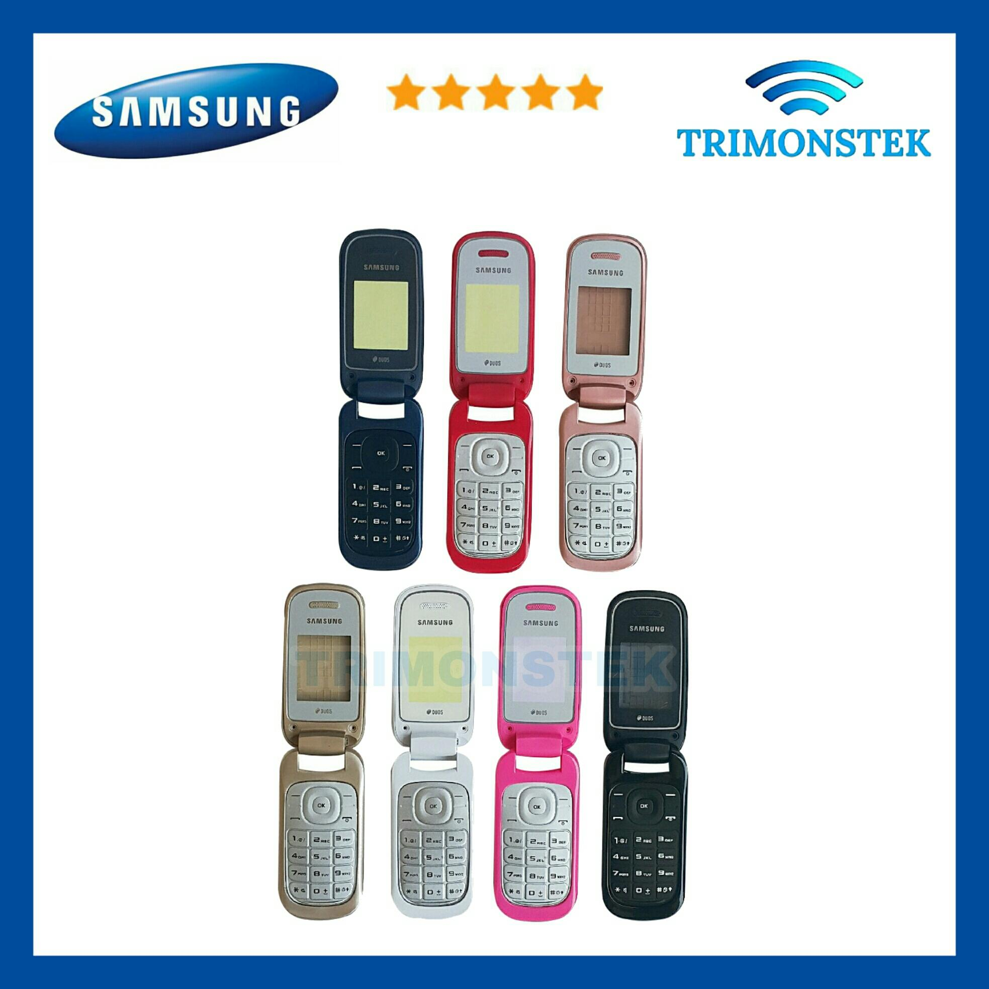 Housing / Casing Fullset Samsung GT E1272 E 1272