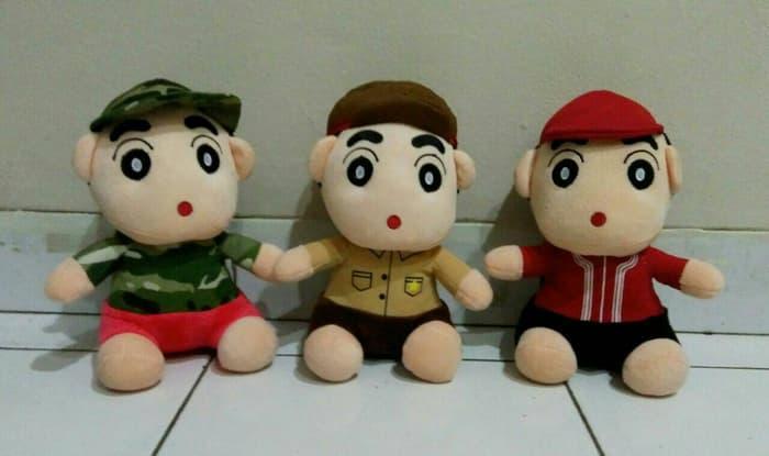 Harga Diskon!! Boneka Komik Crayon Sinchan Shinchan Shin Chan Aneka Karakter Kostum - ready stock