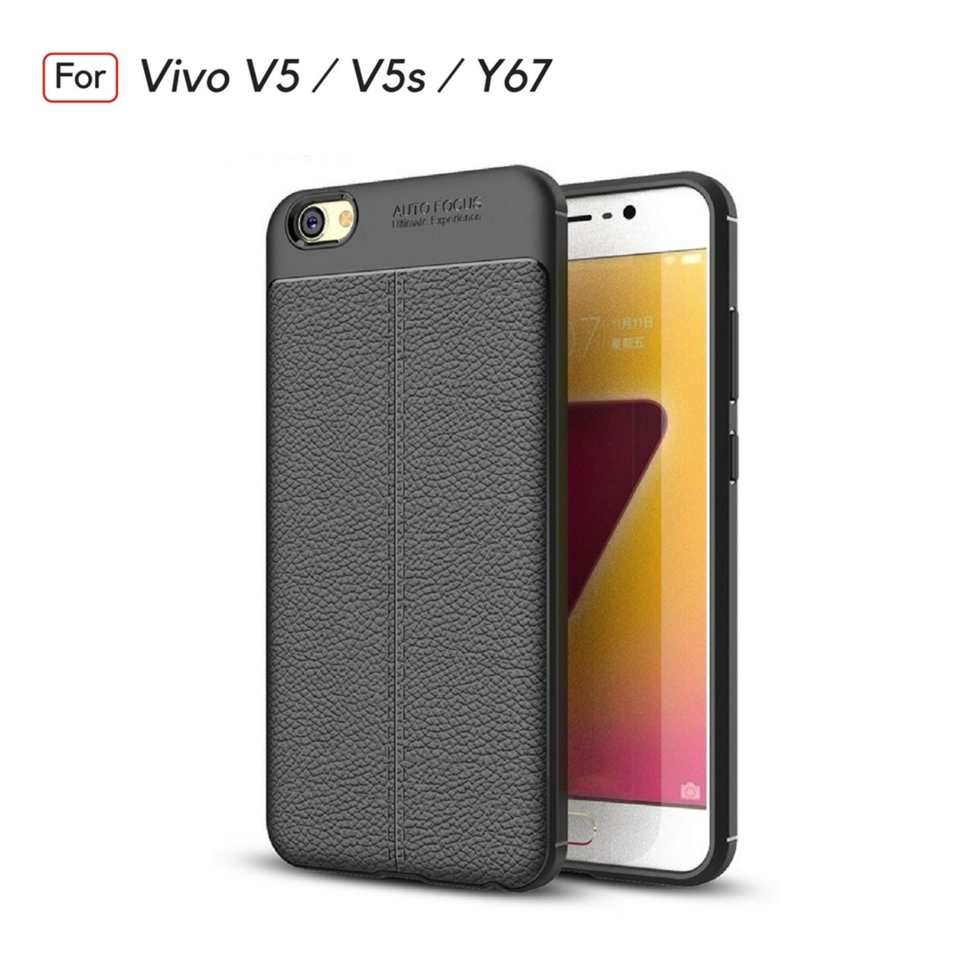 BJ Accessories Super Premium Ultimate Shockproof Leather Case For VIVO V5 / V5s / Y67 -