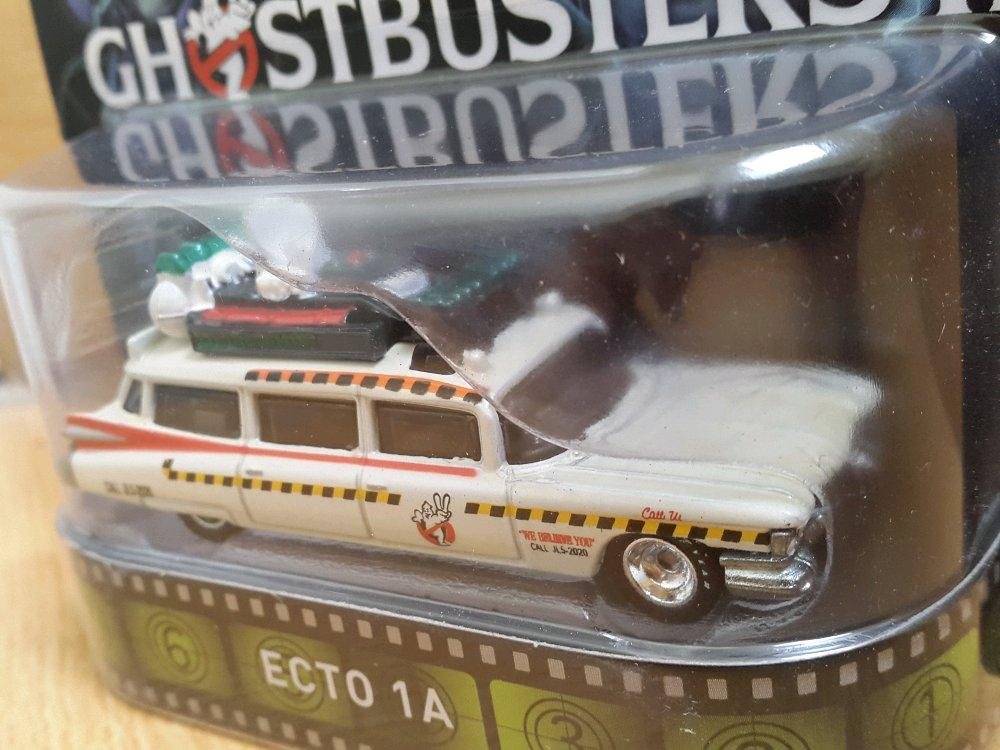 Ecto 1A Ghostbusters II Goodyear Tyre Hotwheels Real Riders # Favorit Toys favorit_toys