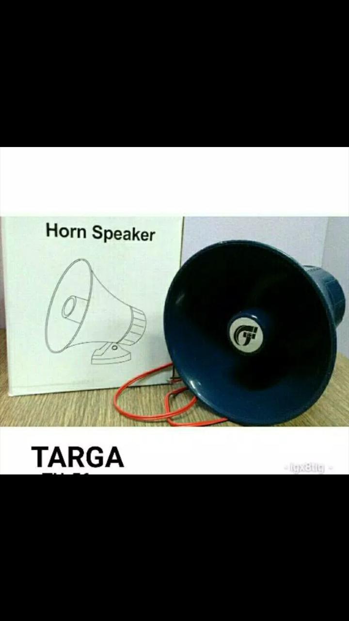 TARGA TH 56 original horn speaker corong mini motor mobil ampli spk UTS Bisa buat DI KENDARAAN BISA JG BUAT DI AMPLI