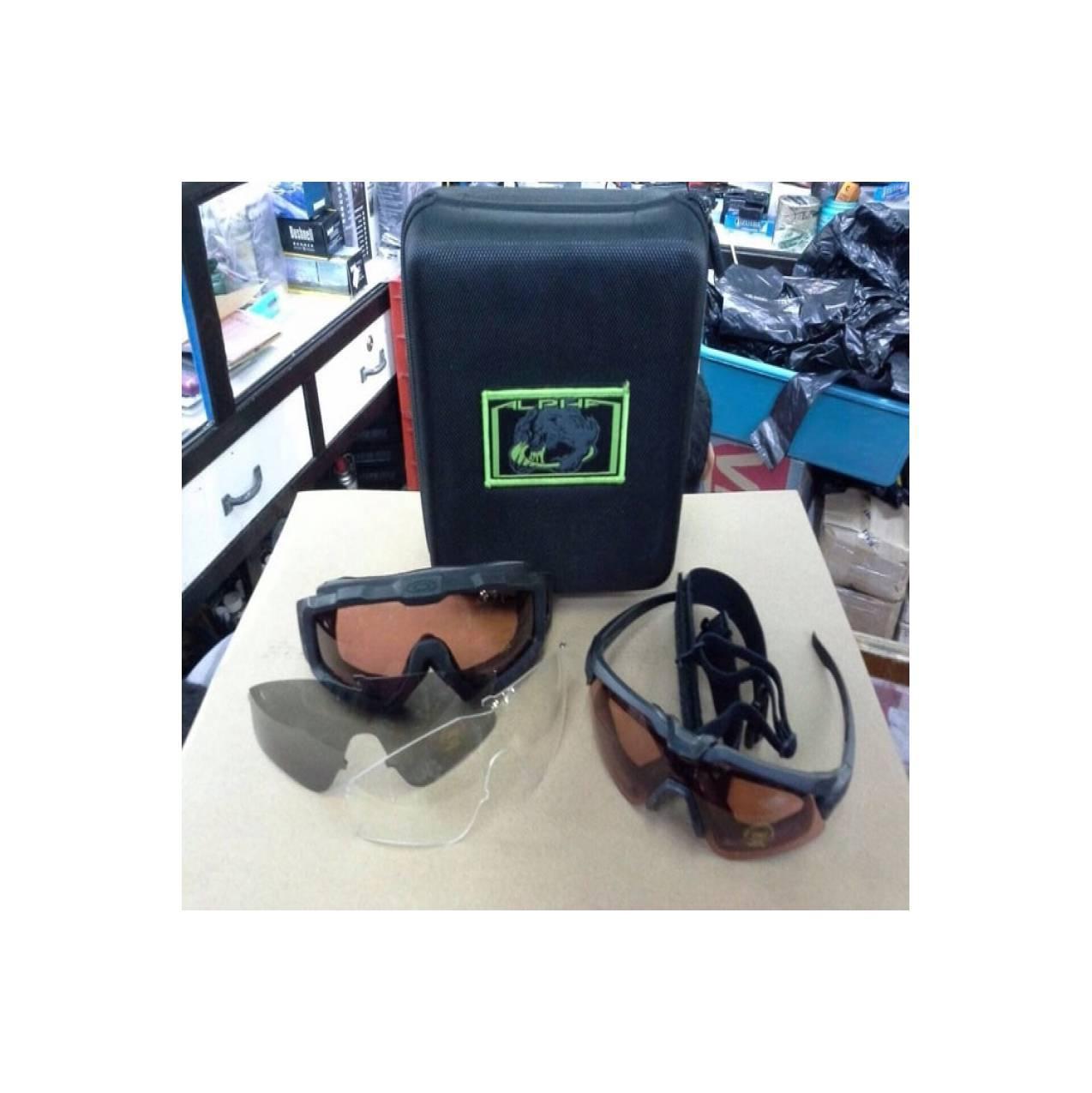 KACAMATA IMPORT 515 OKLEY ALPHA - Google Glass Safety Sepeda Motor