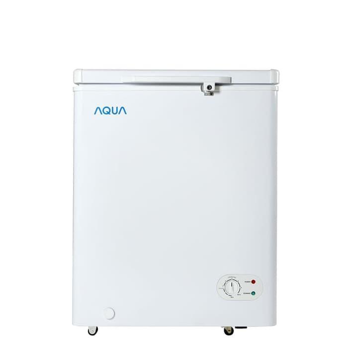 Chest Freezer AQUA AQF-100 W JABODETABEK only
