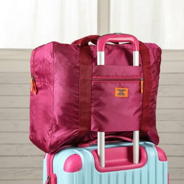 Foldable Travel Bag Hand Carry Tas Lipat Koper Bagasi Organizer Luggage Storage Folding EDW 006