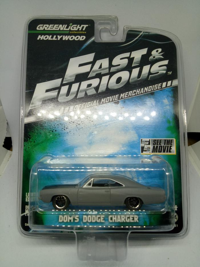 HARGA SPESIAL!!! Greenlight Diecast Fast and Furious Dom's Dodge Charger - 3fR4Zs