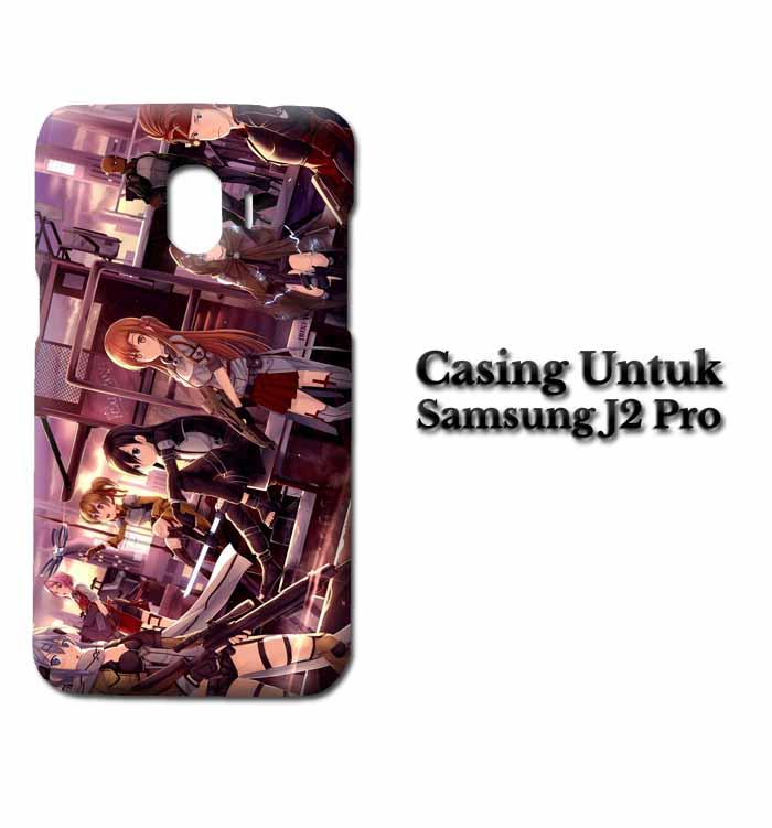 Casing Samsung J2 Pro Sword Art Online Custom Hard Case Cover