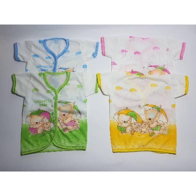 Baju Bayi Lengan Pendek Murah *3pcs B08