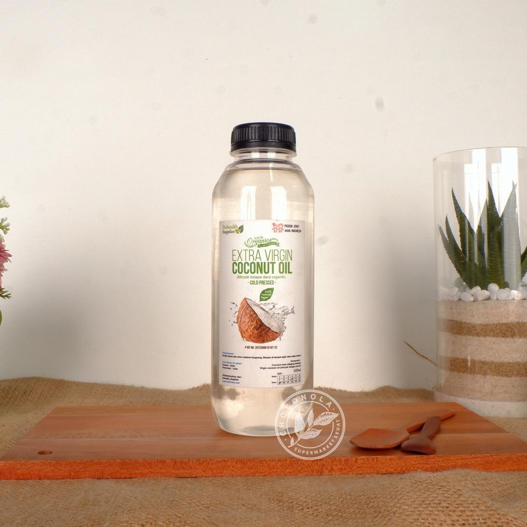 VCO Konut Extra Virgin Coconut Oil 500ml Minyak Kelapa Organik VCO 500 ml