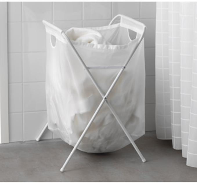 IKEA Jall laundry bag / keranjang cucian baju / tempat baju kotor
