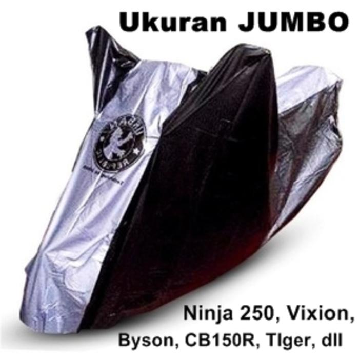 Cover Sepeda Motor Urban ukuran Jumbo untuk Vixion Byson CB150R Tlger