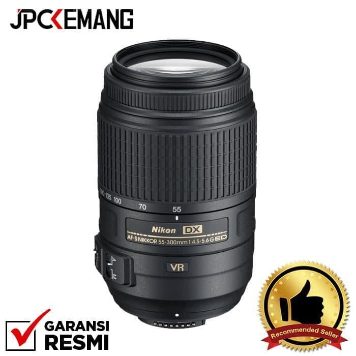Nikon AF-S 55-300mm F/4.5-5.6G DX VR ED jpckemang GARANSI RESMI