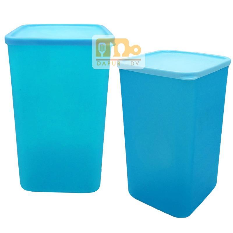 Toples premium sealware wadah snack pamelo XL - 2 pcs biru