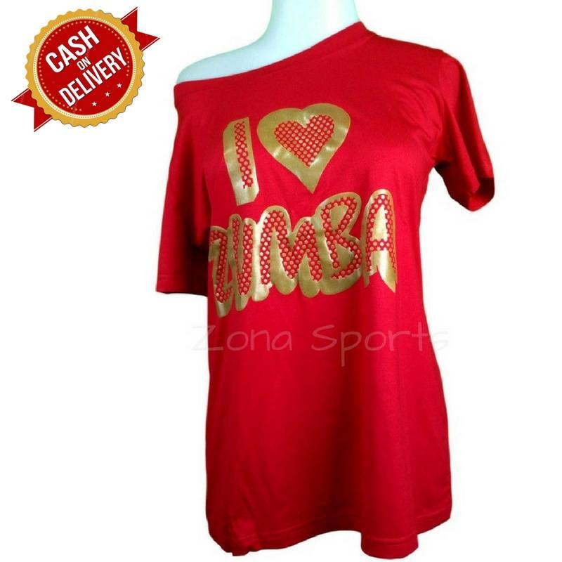 Kira Sports Pakaian Olahraga Wanita / Kaos Senam Zumba / Baju Atasan Fitness / Tshirt Gym Untuk Joging Yoga Lari / Atasan Casual Sabrina Asimetris NK501 - Bisa COD