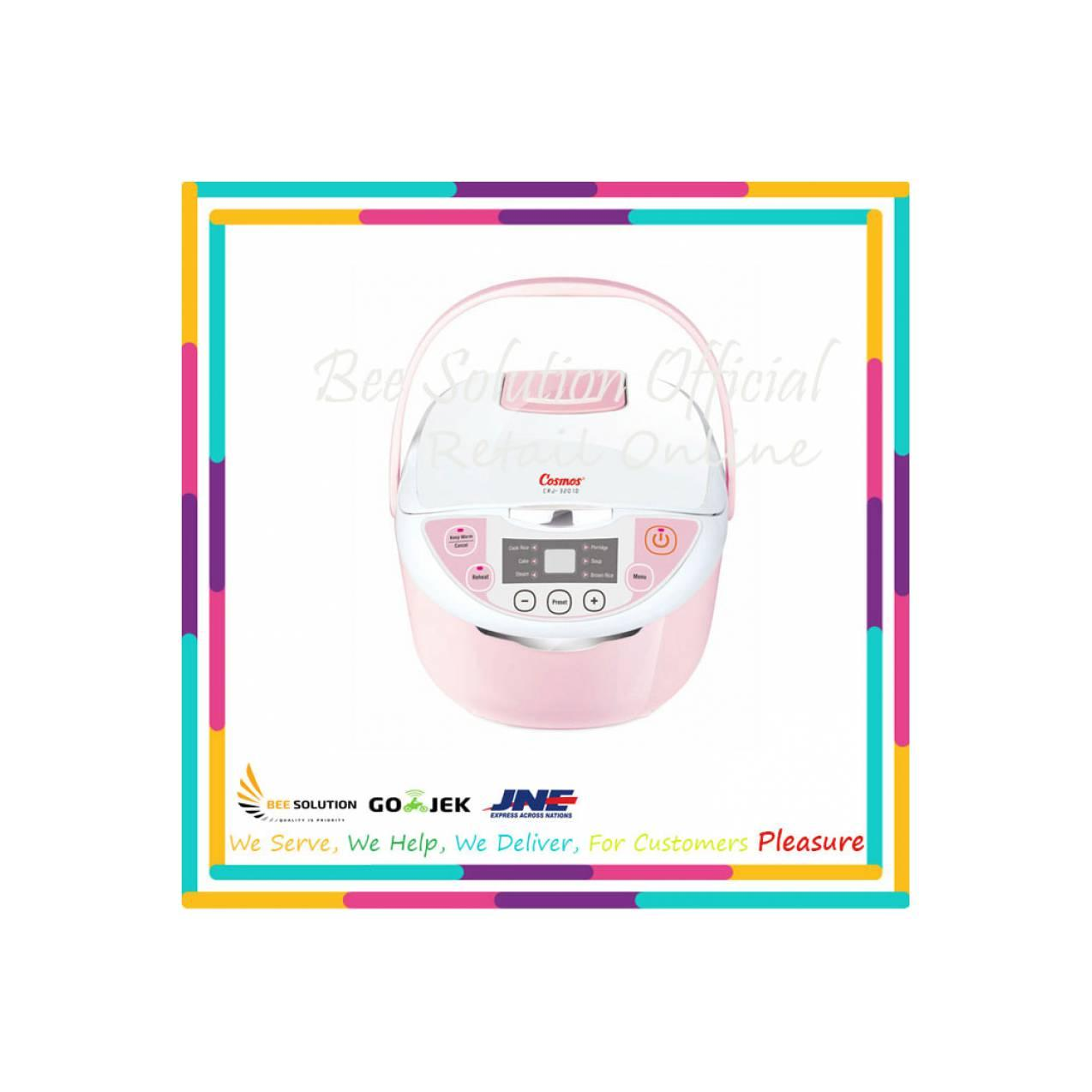 Cosmos Rice Cooker CRJ 3201D / CRJ3201D - Pink - Bubble Wrap