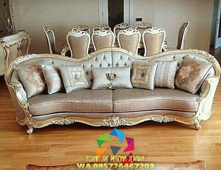 Sofa ukir keluarga, Sofa ukir mewah. PESONA JEPARA 103