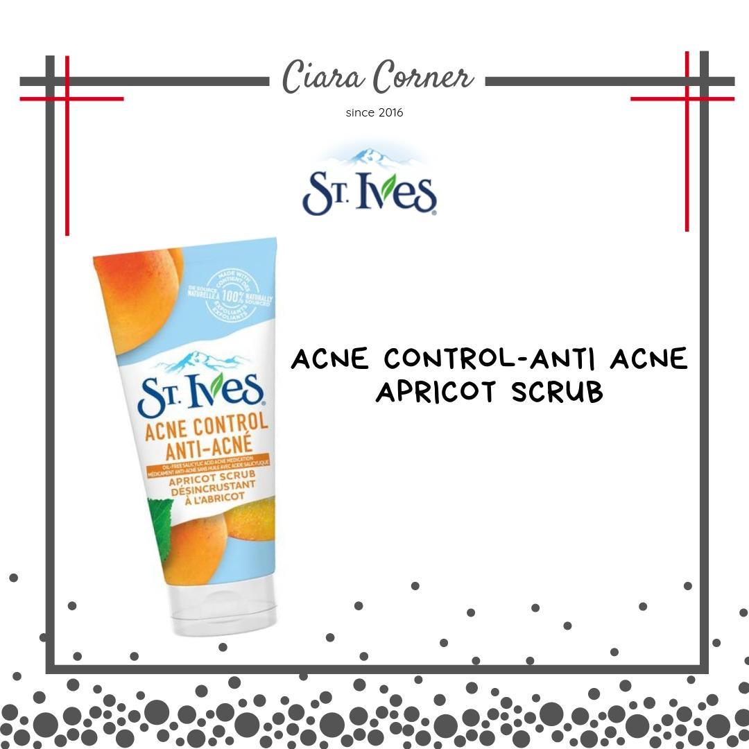 St. Ives Acne Control Apricot Scrub 4499397c85